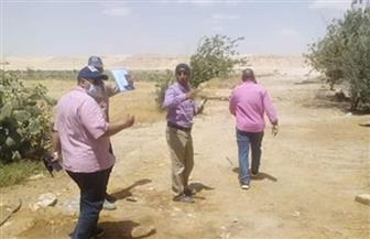 استرداد 440 فدانا بمركز مطاي بالمنيا بحملة مكبرة لإزالة التعديات