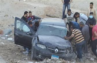 مصرع شاب في حادث على طريق بورسعيد - الإسماعيلية