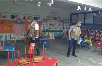 الهلال الأحمر: تطهير وتعقيم المدارس قبل استلام الأبحاث من التلاميذ بالبحر الأحمر | صور