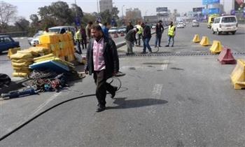 محافظة الجيزة: غلق جزئي لكوبري الجيزة المعدني لاستكمال الصيانة ورفع الكفاءة