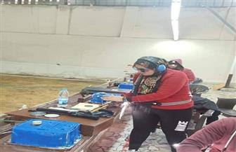 حارة منزلية للتدريب للرامية سالي عبد الحكيم | صور