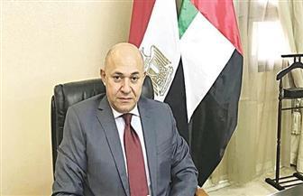 سفير مصر بالإمارات يتابع انطلاق أولى رحلات عودة العالقين ويثمن رعاية الأهرام لعودة الرياضيين| صور