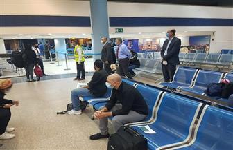 وصول 245 مصريا من العالقين بأبوظبي إلى مطار مرسى علم
