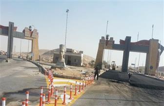 تنفيذ إزدواج الطريق الصحراوي الشرقي بطول 6.5 كم بمدينة المنيا الجديدة   صور