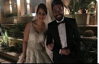 محمد عز يكشف حقيقة زواجه من منى فاروق بعد انتشار صورة حفل الزفاف