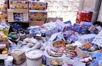 ضبط 120 كليو سلع غير صالحة للاستهلاك قبل بيعها للمواطنين في سوهاج