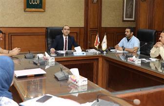 نائب محافظ سوهاج يناقش مؤشرات الموقف التنفيذي لمشروعات «حياة كريمة» | صور