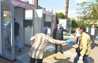 رئيس جامعة القاهرة يستقبل الفوج الأول من المصريين العائدين من الخارج|صور