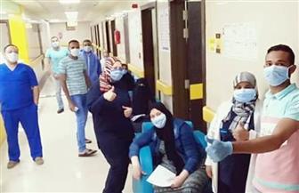 خروج 8 حالات تعافي من مستشفى العزل جنوب الأقصر | صور