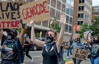 الآلاف في نيوزيلندا يشاركون في مسيرة تضامنا مع الاحتجاجات الأمريكية