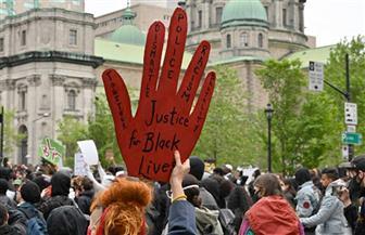 صدامات خلال تظاهرة في مونتريال تضامنا مع المحتجين في الولايات المتحدة