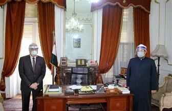 تعرف على تفاصيل اجتماع وزير الأوقاف ومحافظ جنوب سيناء حول التعايش مع كورونا | صور
