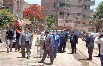 حي السيدة زينب يزيل سوق السقط العشوائي وتطهير محيط مستشفى 57357   صور