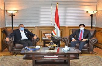 تفاصيل لقاء وزير الرياضة ورئيس اللجنة الخماسية لبحث خارطة طريق الكرة المصرية | صور
