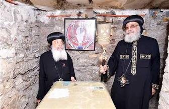 إحياء ذكرى دخول العائلة المقدسة لأرض مصر رغم كورونا مع الصلاة لرفع الوباء| صور