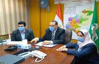 محافظ الشرقية: تخصيص رقم واتساب لتلقي شكاوى المواطنين بشأن كورونا | صور