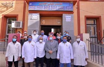 محافظ أسيوط يتفقد مستشفيات القوصية وديروط والحميات | صور