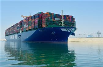 قناة السويس تشهد عبور ثاني أكبر سفينة حاويات في العالم | صور