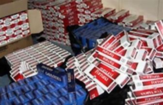 إحباط محاولة تهريب سجائر أجنبية الصنع رسومها الجمركية 35 مليون جنيه