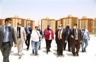 القباج تتفقد أنشطة وزارة التضامن الاجتماعي بحي الأسمرات |صور