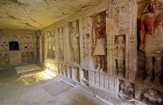"""السياحة والآثار تطلق جولة افتراضية لمقبرة """"تي"""" أحد كبار موظفي الأسرة الخامسة"""