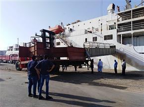 تداول 25 سفينة وتفريغ 4800 رأس ماشية بمواني بورسعيد |صور