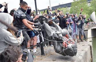 مظاهرات بريستول تحيي الجدل حول الإمبراطورية والعبودية.. التمثال البرونزي الذي تخافه بريطانيا