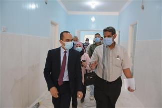 نائب محافظ سوهاج يتفقد مستشفى حميات جرجا  صور
