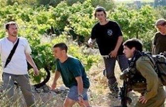 مستوطنون إسرائيليون يقتحمون بلدة كفل حارس بحماية قوات الاحتلال