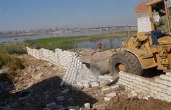 إزالة 572 حالة تعد على نهر النيل ومنافع الري والصرف