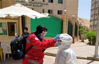 الصحة ترسل فريقا طبيا لمتابعة الحالات المصابة بفيروس كورونا في دار الباقيات الصالحات