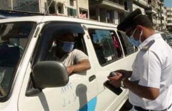 اتخاذ الإجراءات القانونية ضد 2233 سائق نقل جماعي لعدم الالتزام بارتداء الكمامات
