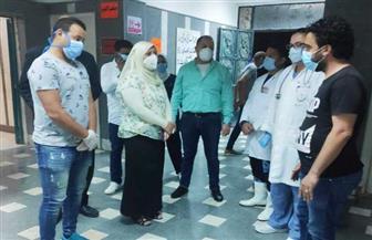 نائبة محافظ مطروح تتفقد المستشفيات المخصصة لاستقبال حالات كورونا | صور