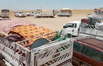 """""""الهجرة العراقية"""": عودة 211 نازحا من المخيمات إلى ديارهم بنينوي"""