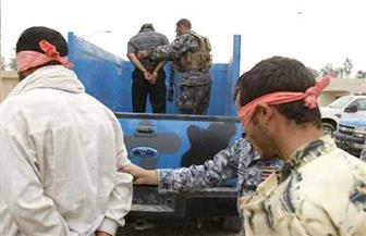 القبض على ٣ من عناصر عصابات داعش الإرهابية في الموصل