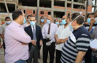 نائب محافظ سوهاج يتفقد مستشفى ساقلتة المركزي| صور