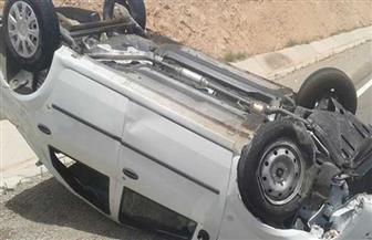 إصابة 6 أشخاص في انقلاب سيارة بمدينة البياضية بالأقصر