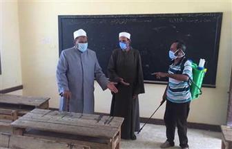 رئيس منطقة البحر الأحمر الأزهرية يتابع إجراءات الوقاية بلجان امتحانات الشهادة الثانوية بحلايب وأبو رماد | صور