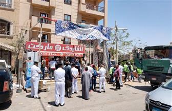 رئيس جهاز 6 أكتوبر: لا تهاون مع مخالفات البناء وتحويلها إلى النيابة العسكرية   صور