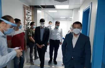 نائبا محافظ القليوبية يتفقدان مستشفيات الحجر الصحى بالمحافظة