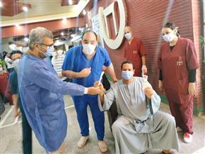تعافي 172 حالة مصابة بفيروس كورونا من مستشفى قنا