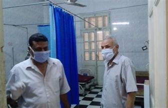 رئيس مدينة إسنا يتفقد المستشفيات والوحدات الصحية | صور