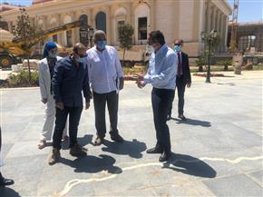 وزير السياحة والآثار يتفقد متحف العاصمة الإدارية الجديدة استعدادا لافتتاحه | صور