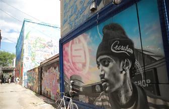 فنانون في تورونتو ينفذون جداريات تدعم حركة مناهضة العنصرية