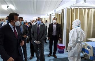 مدبولي-يوجه-بزيادة-المستشفيات-الجامعية-في-القاهرة-الكبرى-لعلاج-مصابي-كورونا- -صور
