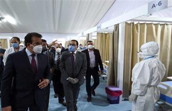 رئيس الوزراء يتفقد المستشفى الميداني لجامعة عين شمس تمهيدا لتشغيله