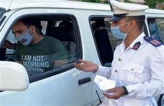 """خلال 24 ساعة.. تحرير مخالفات لـ2278 سائق نقل جماعي بسبب """"الكمامة"""""""