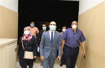 نائب محافظ سوهاج يتفقد مستشفى طهطا العام | صور