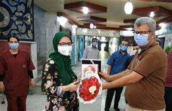 تعافي طبيبة تخدير من «كورونا» وخروجها من مستشفى قنا العام للحجر الصحي