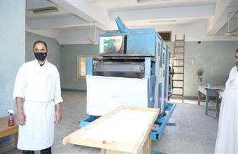 بدء تشغيل مخبز لإنتاج الخبز الخاص بمرضى الـPKU لأطفال الصعيد في قنا | صور